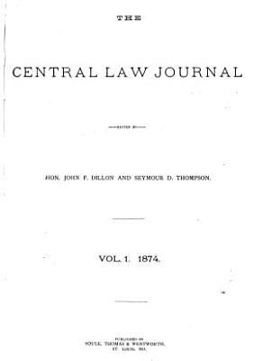 The Central Law Journal PDF