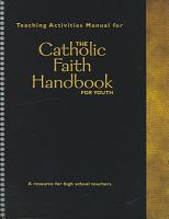 Teaching Activities Manual for the Catholic Faith Handbook for Youth PDF
