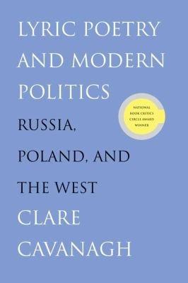Lyric Poetry and Modern Politics PDF