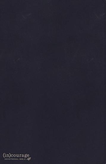 CSB  in courage Devotional Bible  Navy Genuine Leather Indexed PDF