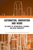 Automation  Innovation and Work PDF