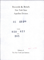 New York Supreme Court Appellate Division Second Department