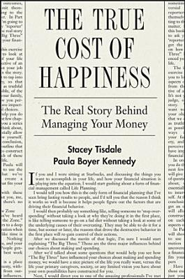 The True Cost of Happiness