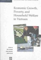 Economic Growth  Poverty  and Household Welfare in Vietnam PDF