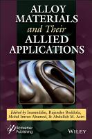 Alloy Materials and Their Allied Applications PDF