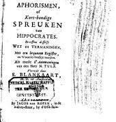 Aphorismen, of Kort-bondige spreuken: Volume 1