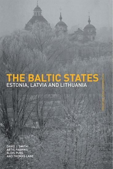 The Baltic States PDF