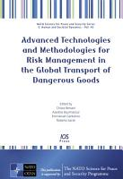 Advanced Technologies and Methodologies for Risk Management in the Global Transport of Dangerous Goods PDF