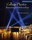 College Physics  Volume 1 PDF