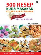 500 Resep Kue & Masakan Koleksi Kursus Masak