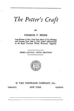 The Potter s Craft PDF
