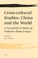 Cross cultural Studies  China and the World PDF