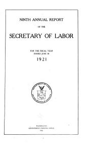Annual Report - United States Department of Labor