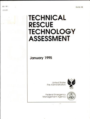 Technical Rescue Technology Assessment