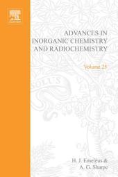 Advances in Inorganic Chemistry: Volume 25