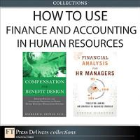 How to Use Finance and Accounting in HR  Collection  PDF