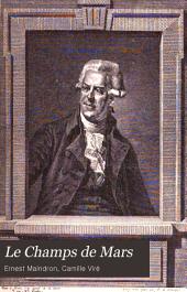 Le Champ de Mars, 1751-1889