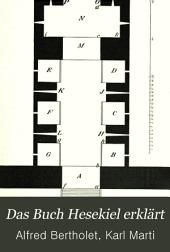 Das Buch Hesekiel: erklärt, Band 4
