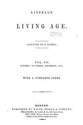 The Living Age ...: Volume 7