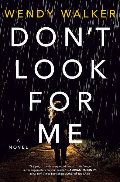 Download Don t Look for Me Book