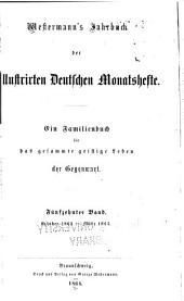 Westermann's Jahrbuch der illustrierten deutschen Monatshefte: Band 15