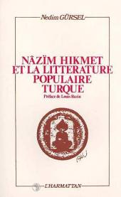 Nazim Hikmet et la littérature populaire turque