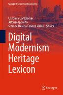 Digital Modernism Heritage Lexicon