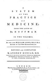 A System of the Practice of Medicine: Volume 2