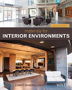Materials for Interior Environments Book
