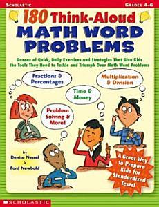180 Think-Aloud Math Word Problems