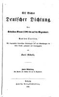 Elf B  cher deutscher Dichtung PDF