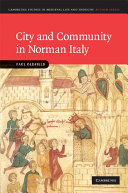 City and Community in Norman Italy PDF