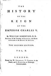 The history of the reign of the emperor Charles V