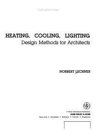 Heating, Cooling, Lighting