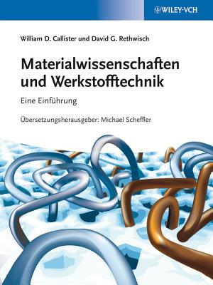 Materialwissenschaften und Werkstofftechnik PDF