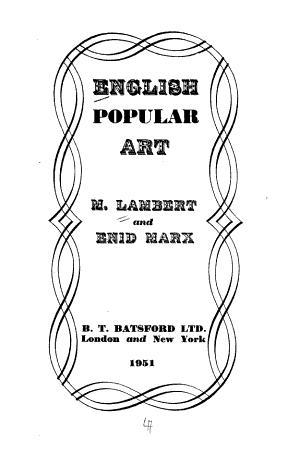 English Popular Art