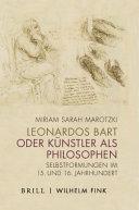 Leonardos Bart  oder  K  nstler als Philosophen PDF