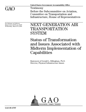 Next Generation Air Transportation System  Status of Transformation and Issues Associated with Midterm Implementation of Capabilities PDF