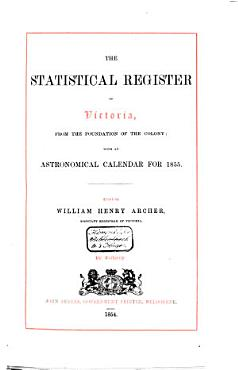 The Statistical Register of Victoria PDF
