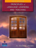 Principles of Language Learning and Teaching Book
