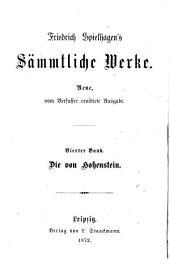 Die von Hohenstein: Roman