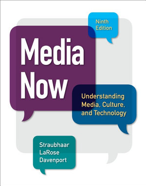 Media Now  Understanding Media  Culture  and Technology PDF