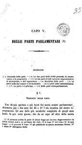 Delle parti parlamentari capo 5