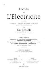 Lecons sur l'electricite: Volume2
