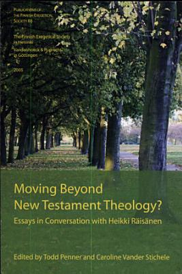 Moving Beyond New Testament Theology  PDF
