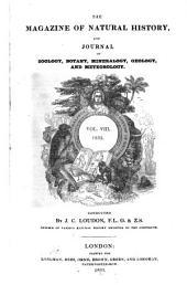 Magazine of Natural History: Volume 8