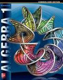 Algebra 1  Student Edition Book