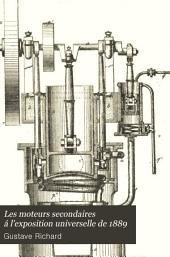 Les moteurs secondaires á l'exposition universelle de 1889