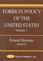 Foreign Policy of the United States PDF
