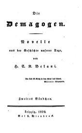 Die Demagogen: Novelle, aus der Geschichte unserer Zeit, Band 2